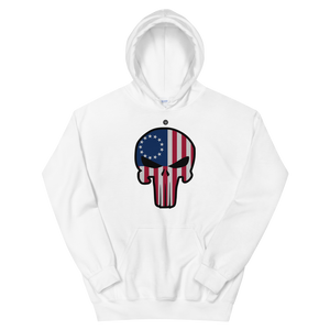 BETSY ROSS PUNISHER HOODIE | UNISEX