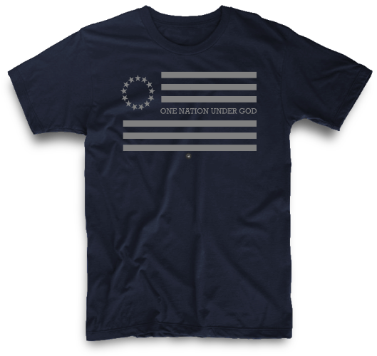 ONE NATION UNDER GOD BETSY ROSS | UNISEX