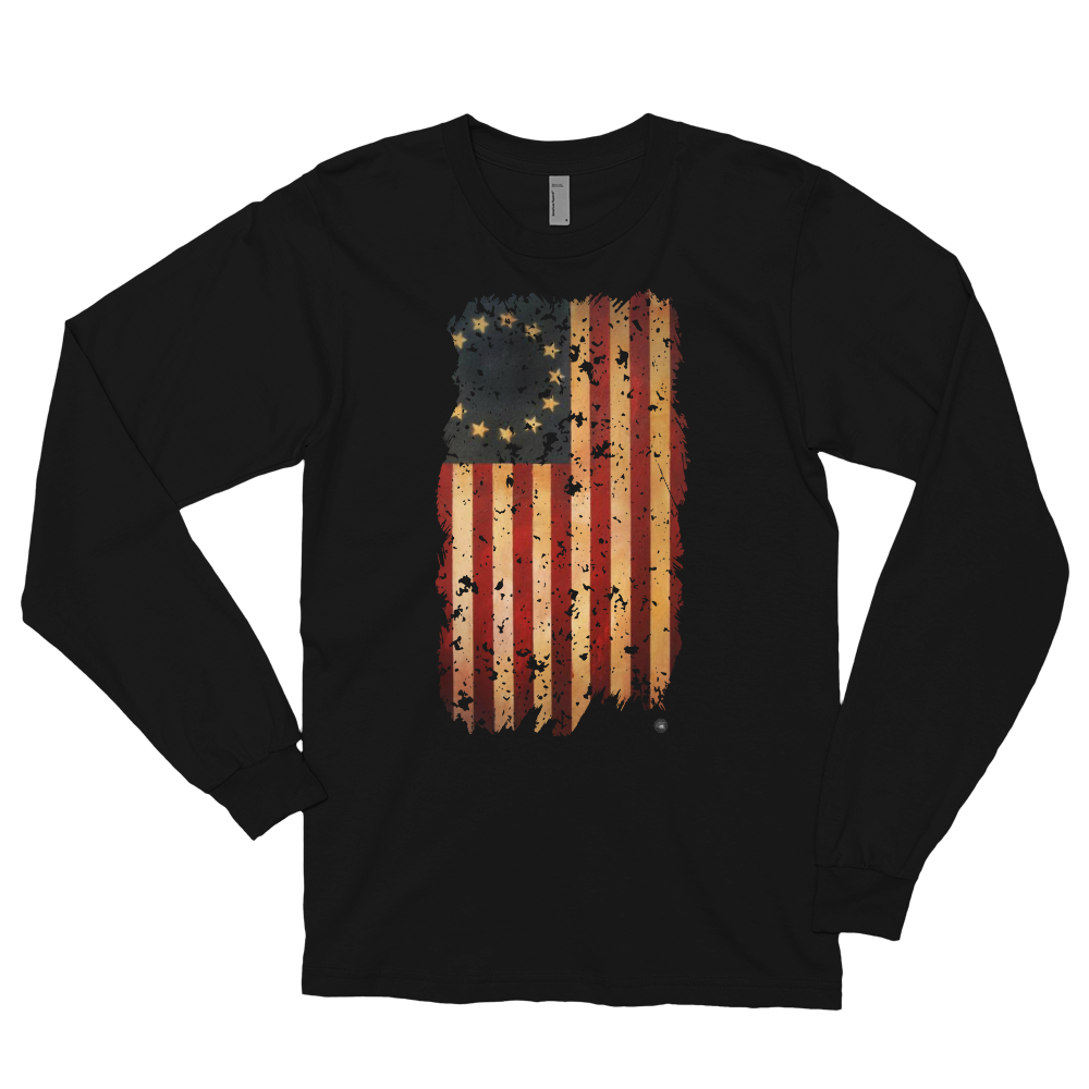 HANGING BETSY ROSS LONG SLEEVE | UNISEX