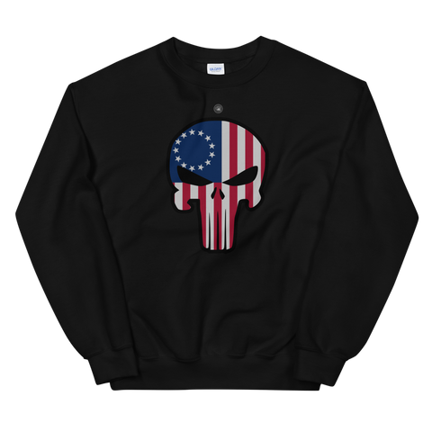BETSY ROSS PUNISHER SWEATSHIRT | UNISEX