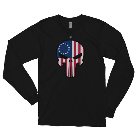 BETSY ROSS PUNISHER LONG SLEEVE | UNISEX