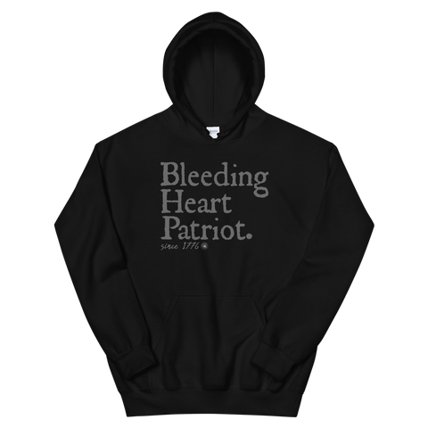 BLEEDING HEART PATRIOT SINCE 1776 HOODIE | UNISEX