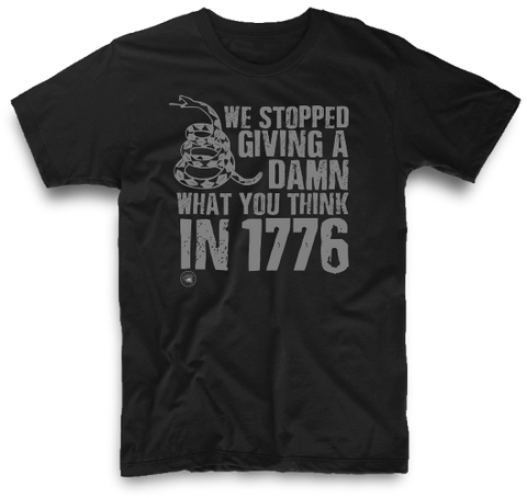 WE STOPPED GIVING A DAMN IN 1776 | UNISEX
