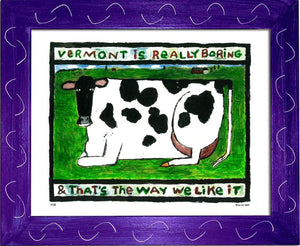 P119 - Vt Boring Cow - dug Nap Art