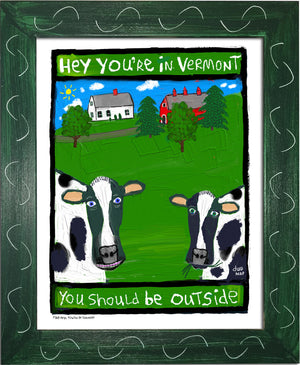 P168 - Hey You're In Vermont - dug Nap Art