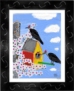 P1070 - Woodpeckers - dug Nap Art