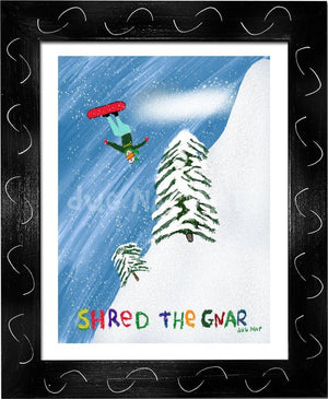 P1022 Shred The Gnar - dug Nap Art