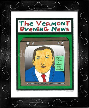P104 - Vermont Evening News - dug Nap Art