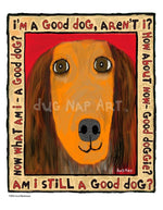 P1041 Good Dachshund Art