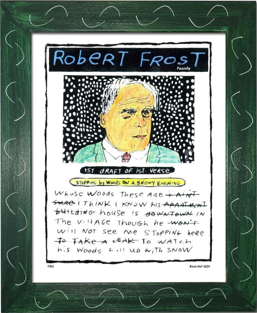 P302 - Robert Frost - dug Nap Art