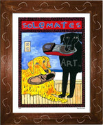P404 - Solemates Small (8.5 X 11) / Brown Art