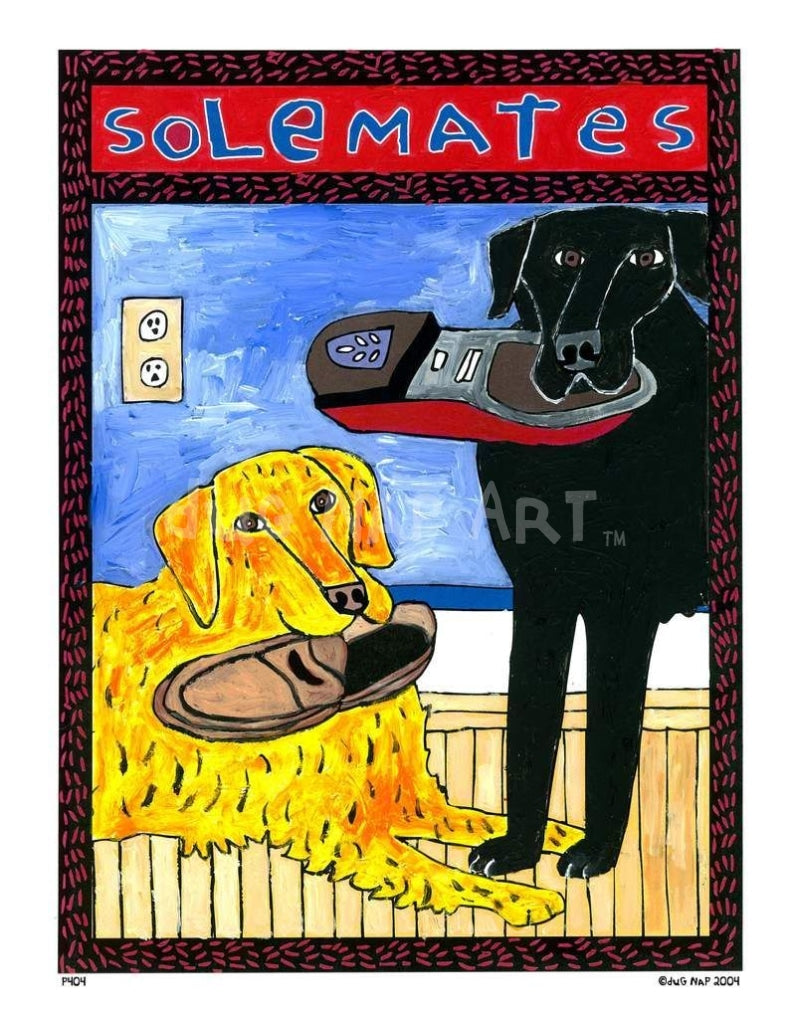 P404 - Solemates Small (8.5 X 11) / No Frame Art