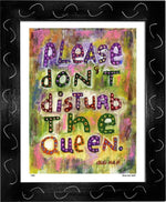 P440 - Don't Disturb The Queen - dug Nap Art