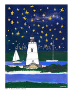 P704 - Wish Upon A Starfish Unframed Print / Big (16 X 20) No Frame Art