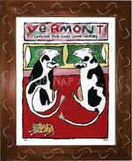 P733 - VT Cows Come Home - dug Nap Art
