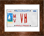P858 - Martha's Vineyard Plate (VH)