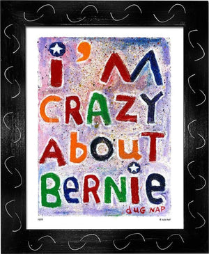 P877 - Bernie Crazy - dug Nap Art
