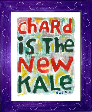 P879 - Chard New Kale - dug Nap Art
