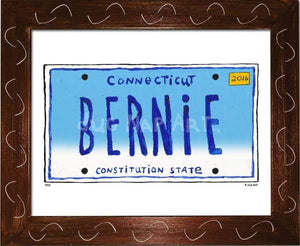 P904 - CT Plate - BERNIE - dug Nap Art