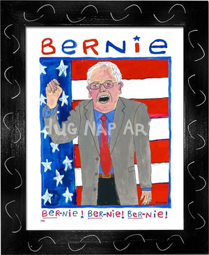 P931 - Bernie Chant Framed Print / Small (8.5 X 11) Black Art