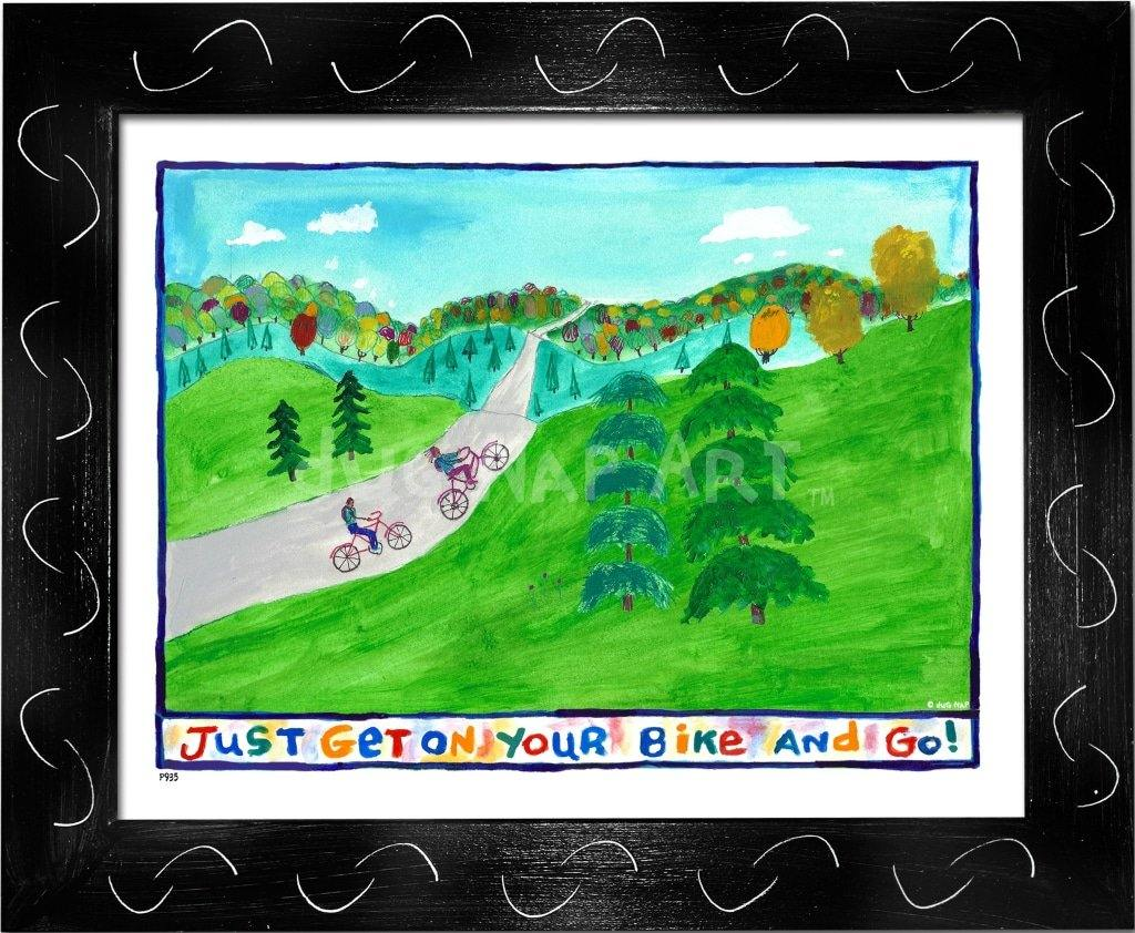 P935 - Get On Your Bike And Go! - dug Nap Art