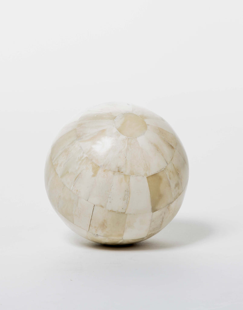 Bone Decorative Sphere