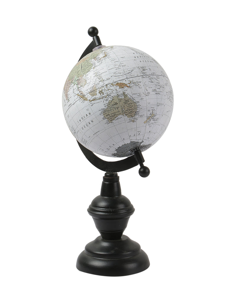 'Wanderer' White Globe of The World