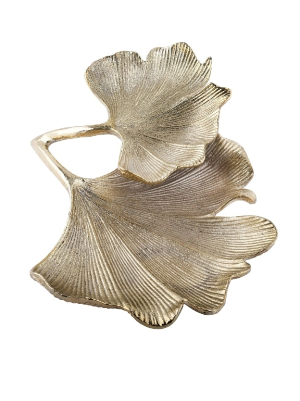 Decorative Ginkgo Leaf Platter