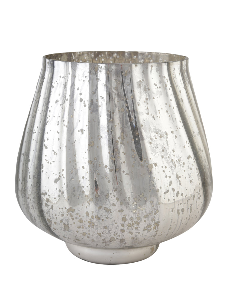 Sterling Glass Vase
