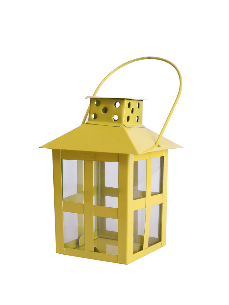 Maison Lantern Yellow Colour