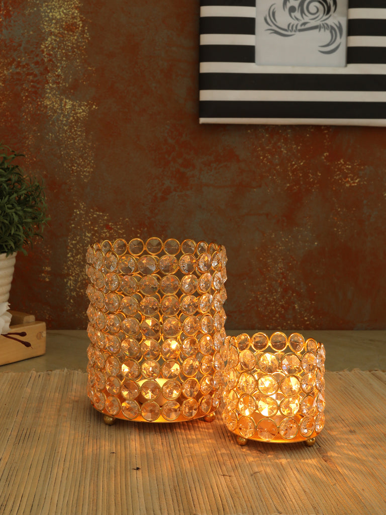 Ester Crystal T- Light Candleholder