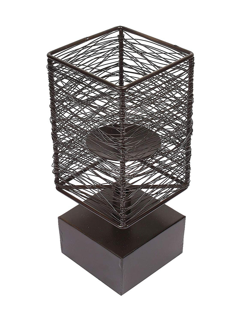 Geo Square wire candle stand