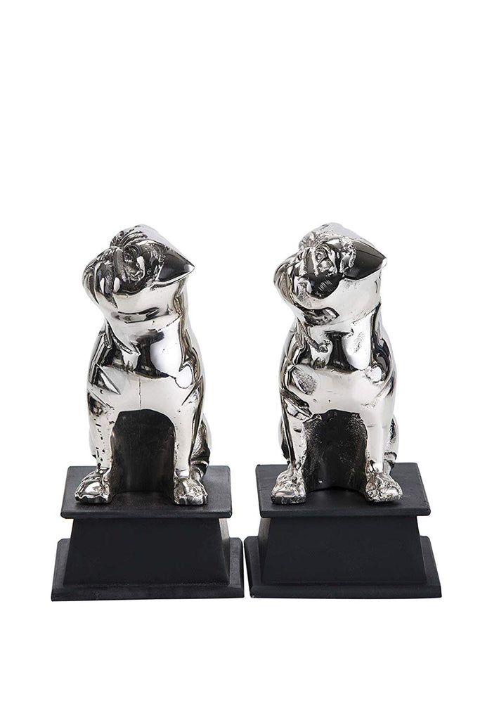 Pugsy Dog Bookend set of 2
