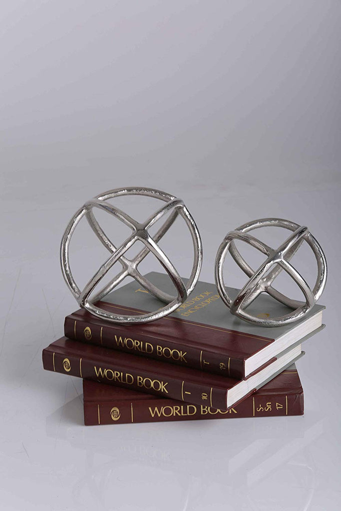 Decorative Metal Sphere Set
