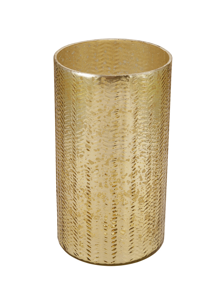 Amanda Gold Glass Flower Vase