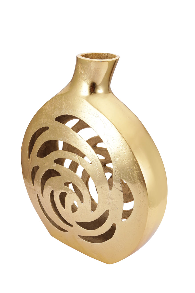 Penelope Gold Flower Vase