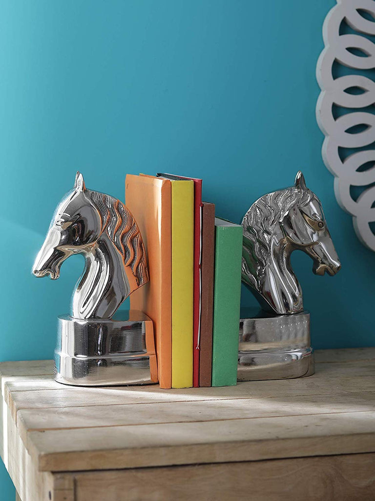 Pegasus Horse Head Bookends Set of 2