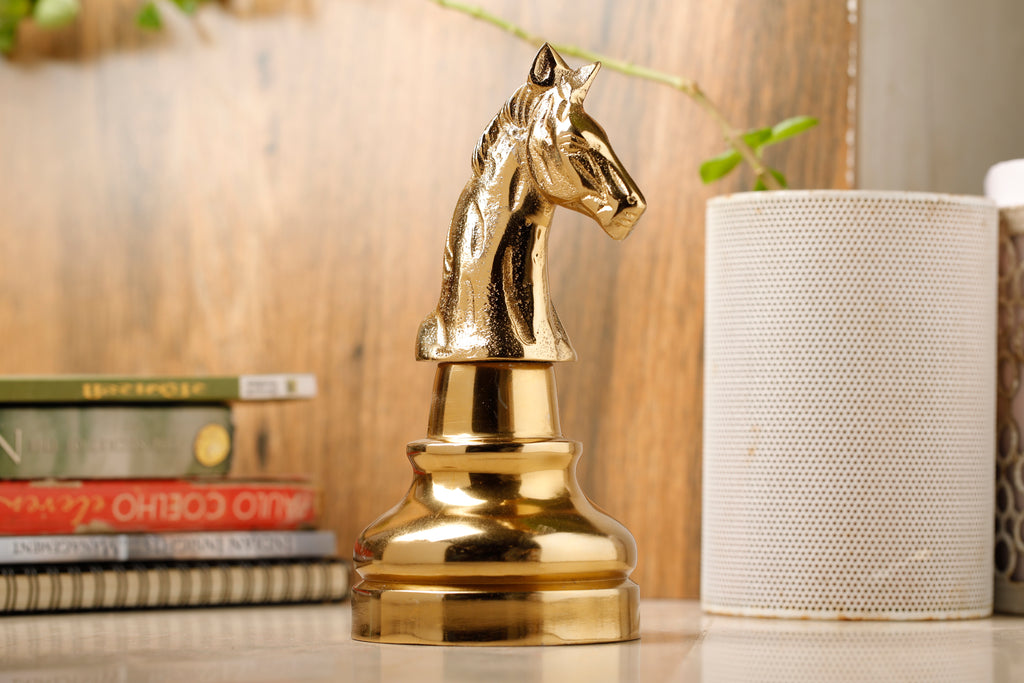 Oversized Horse Chess Decorative Accent