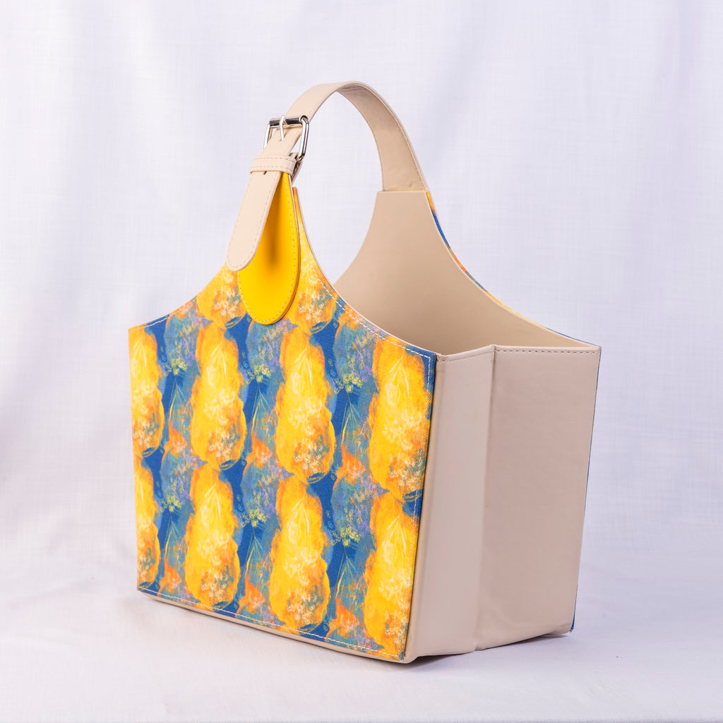 Crystal Magazine Tote