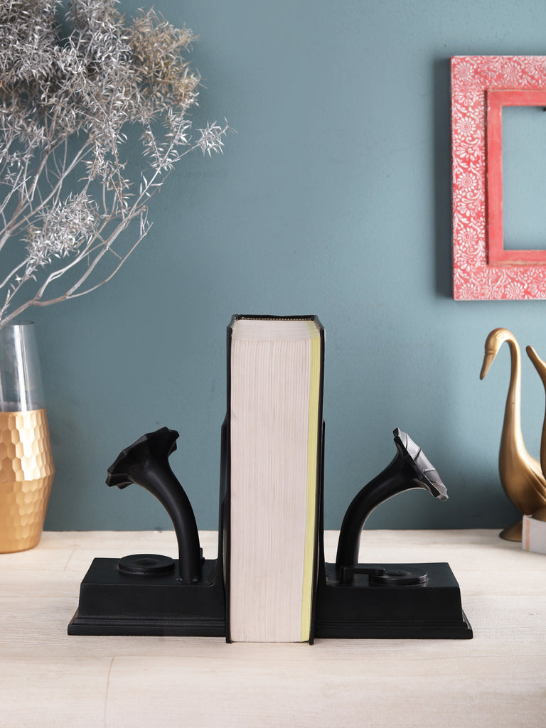 Gramophone Bookend