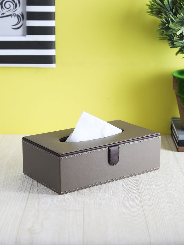 Dove Beige & Brown Tissue Box