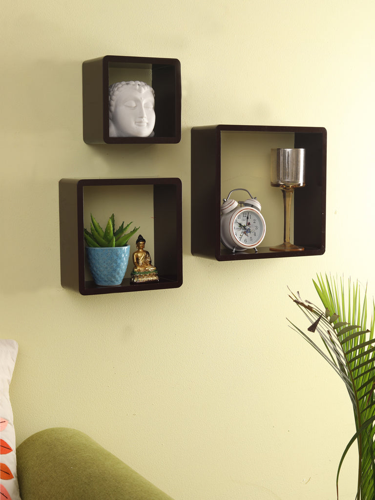 Mapple Wall Mounted Shelves Set of 3