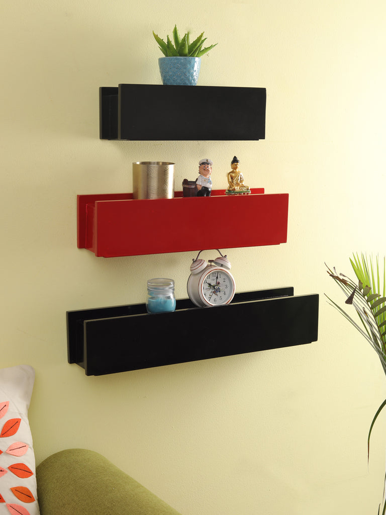 Teas Wall Mounted Shelves Set of 3