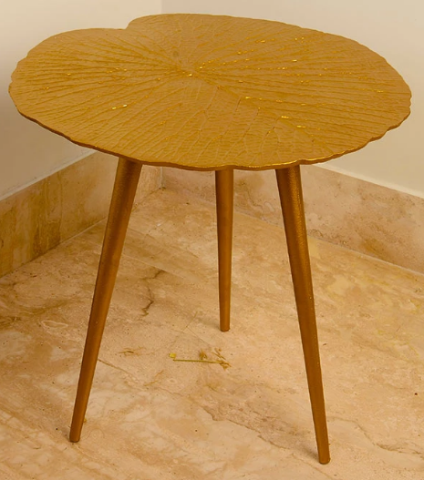 Sabal Gold Leaf Table