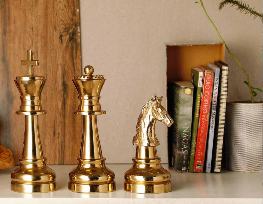 Oversized King Chess Decorative Accent