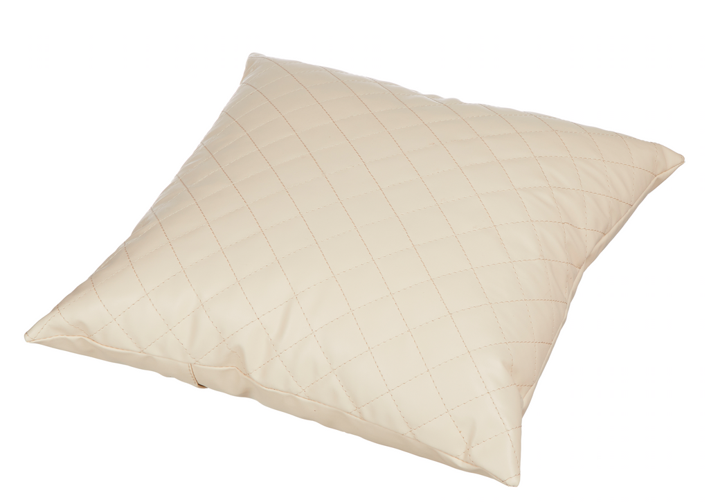 Ivory Diamond Pattern Cushion