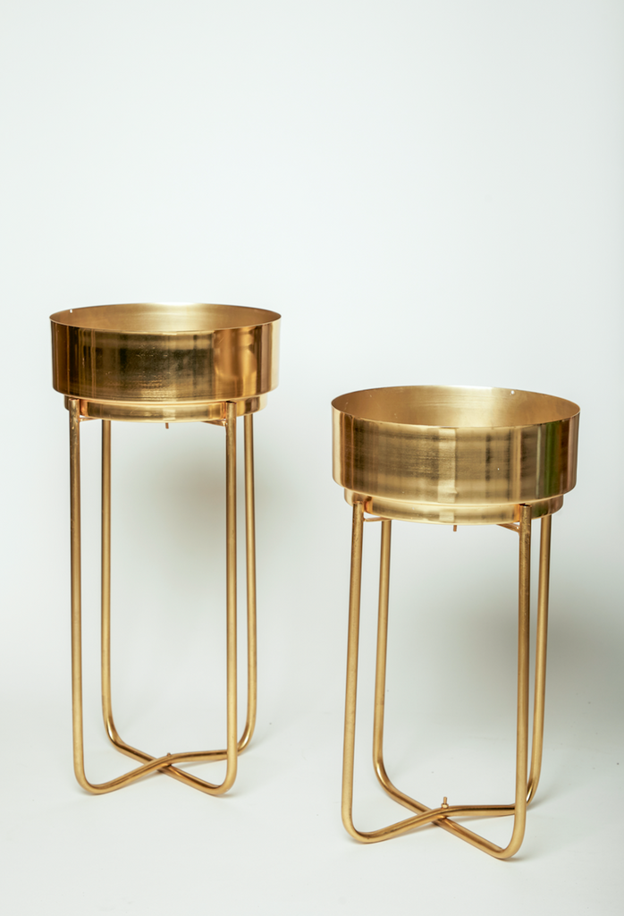 Malmo Gold Planter