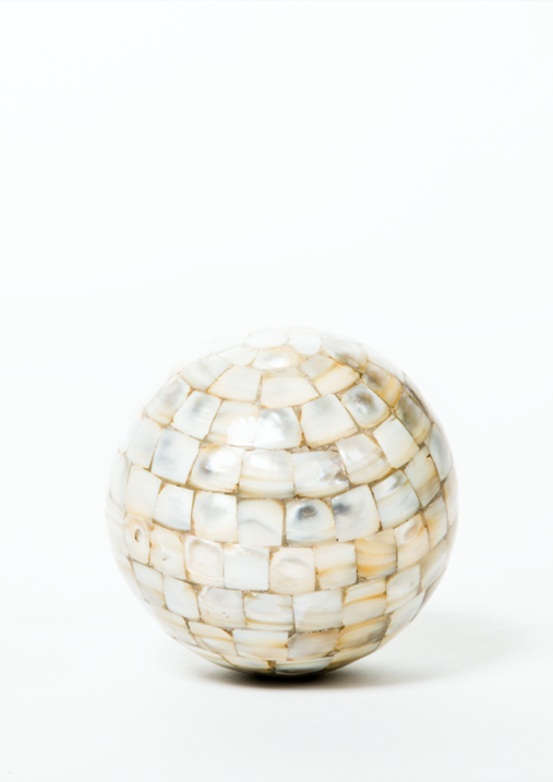 Mother of Pearl Decorative Sphere