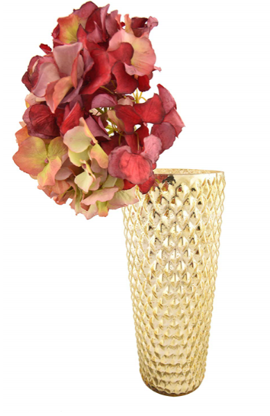 Mysore Gold Flower Vase Big