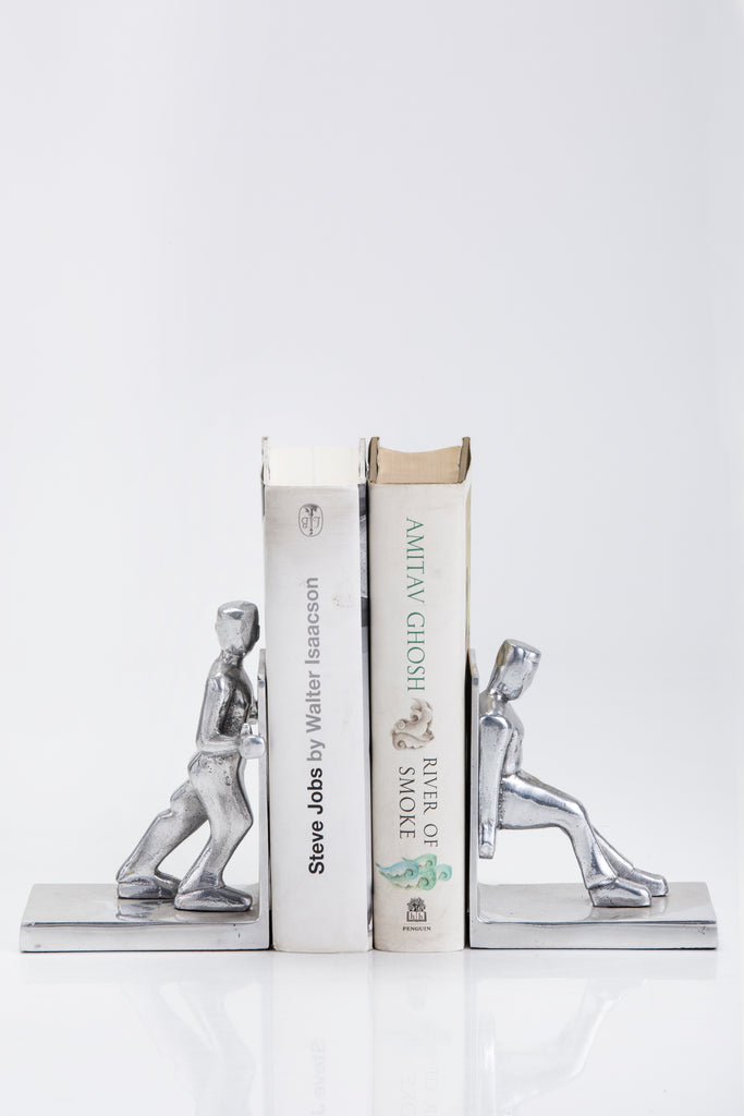 Working Men bookend set of 2